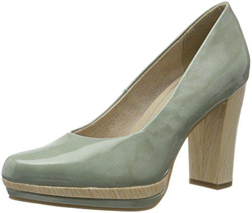 Marco Tozzi 22433, Sandalias con Plataforma para Mujer Verde (Mint 768)