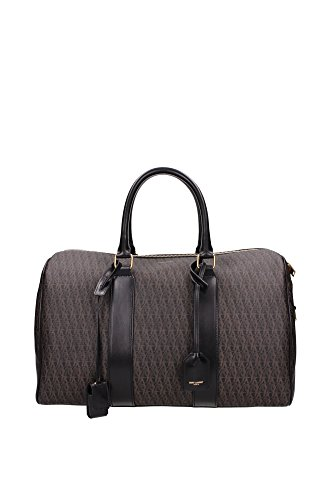343702GIT1J960 Saint Laurent Bowling Bags Women Leather Gray