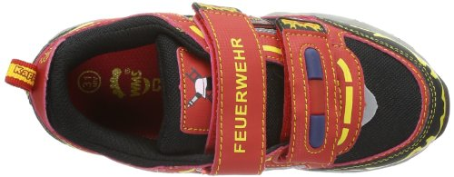 Kappa FEUERWEHR Unisex-Kinder Sneakers Rot (2011 red/black)