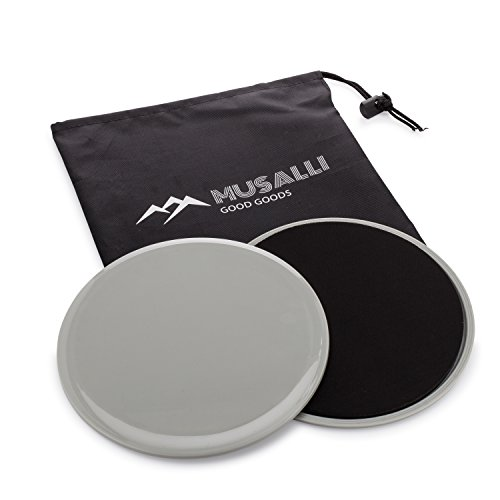 Musalli Good Goods Exercise Sliders Gliding Disc, Dual Side Work Very Smooth...