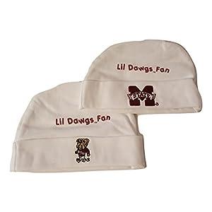 MSU Mississippi State University Bulldogs NCAA Team 2Piece Infant Hat