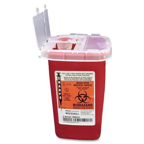 CONTAINER,SHARPS,W/LID,1QT by Unimed-Midwest (Image #1)