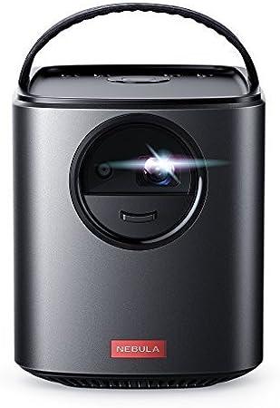 Nebula, por Anker, Mars II 300 ANSI LM Proyector portátil con 720p 30-150 '' DLP Picture, Altavoces de 10W, Android 7.1, autofocus de 1 Segundo, autonomía de 4 Horas, conectividad Amplia y Miracast
