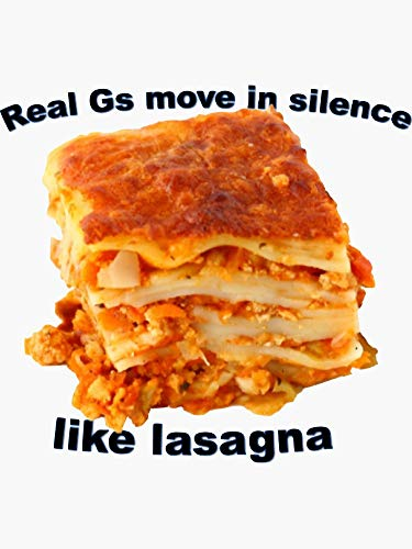 SMACK THAT STICKERS Real Gs Move in Silence Like Lasagna- Lil Wayne Sticker - Sticker - Sticker Graphic Die CutVinyl Decal Sticker Graphic - Bumper Sticker Laptop Car Window ETC