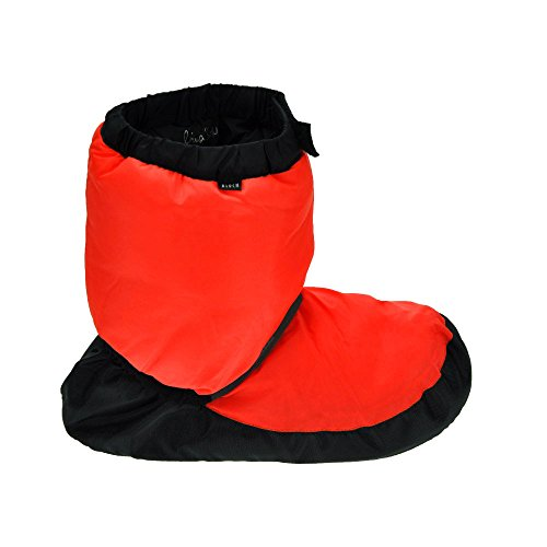 Warm Up Orange Unisex Adults' Fluorescent Bloch Bootie Dance Shoe EAqRwn