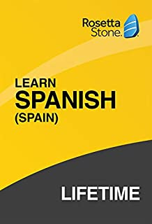 [OLD ASIN] Rosetta Stone: Learn Spanish (Spain) with Lifetime Access on iOS, Android, PC, and Mac [Activation Code by Mail] (B07HGKV6RB) | Amazon price tracker / tracking, Amazon price history charts, Amazon price watches, Amazon price drop alerts