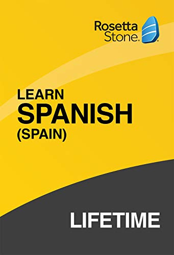 Software : Rosetta Stone: Learn Spanish (Spain) with Lifetime Access on iOS, Android, PC, and Mac [Activation Code by Mail]