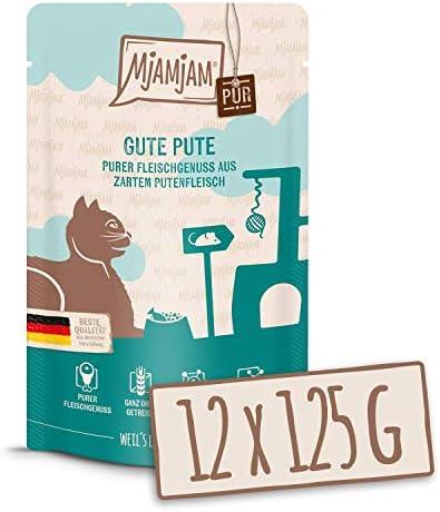 MjAMjAM Quetschie - purer Fleischgenuss - pur, 12er Pack (12 x 125 g)