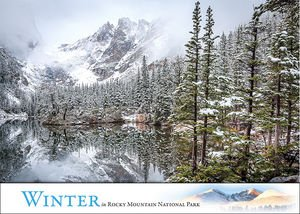 Box of 12 Blank Cards with Envelopes: Winter in Rocky Mountain National Park Scenic Nature Landscape Photos by Erik Stensland
