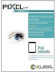 Pellicola PIXEL SCREEN Filter per Monitor, Test Università di Torino, Anti Luce Blu e Anti UV, Anti Graffio e No Bolle, Innovativa Composizione Multistrato, Massima Trasparenza (iPad air)
