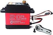 ANNIMOS 20KG Digital Servo High Torque Full Metal Gear Waterproof for RC Model DIY, DS3218MG,Control Angle 270