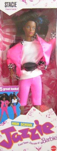 Barbie High School Jazzie STACIE Doll AA - Friend of Jazzie Doll (1988 Mattel - Doll Barbie 1988