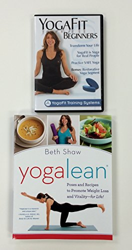Yogafit Beginners DVD and Yoga Lean Book Combo
