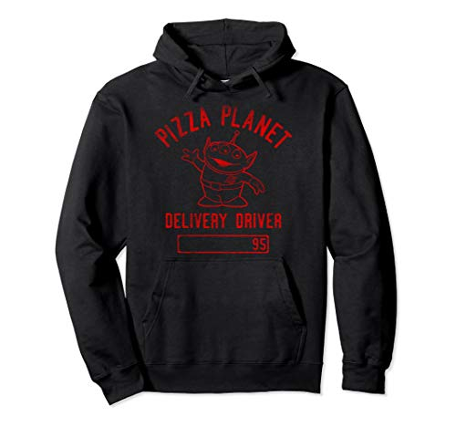 Disney Pixar Toy Story Pizza Planet Delivery Driver Hoodie (Pizza Driver Delivery)