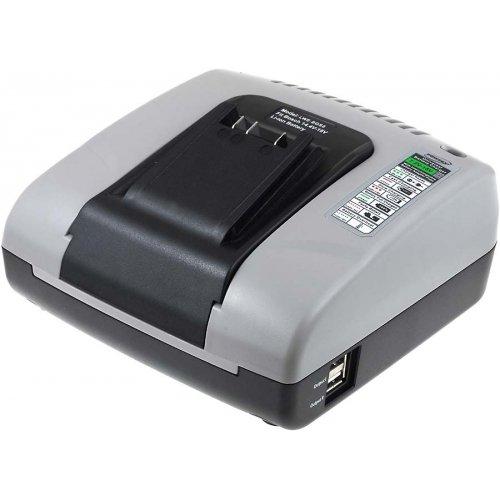 Powery Cargador de Baterí a con USB para Bosch Taladro PSR 14.4 LI 4052993508144-AL