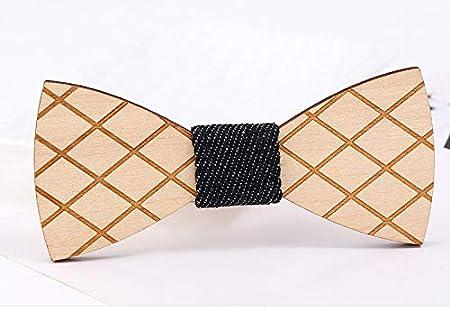 Corbata de Madera para Hombre, diseño de Mariposa, Corbata de ...
