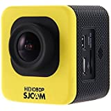 SJCAM スポーツカメラ M10 30m防水 170度広角レンズ Yellow M10_Y
