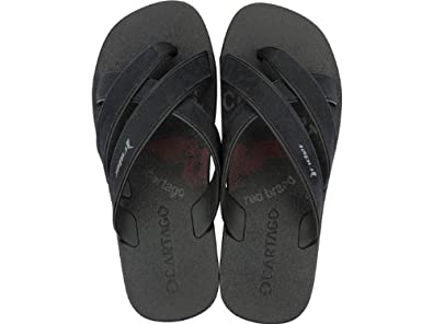 cde7eff3e31c Image Unavailable. Image not available for. Colour  Rider Cartago Mens Flip  Flops   Sandals - Black ...