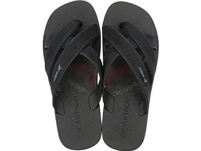 257421ff4cd Image Unavailable. Image not available for. Colour  Rider Cartago Mens Flip  Flops   Sandals - Black - SIZE UK 10