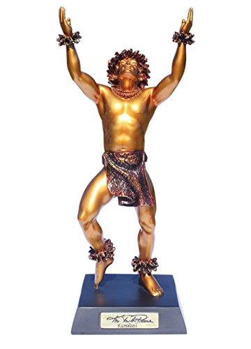 Tikimaster Kamalani Hawaiian Hula Dancer Statue - Kim Taylor Reece
