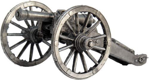 Tin Army AR08 6 Pound Cannon Tin Toy Soldiers Metal Sculpture Miniature Figure Collection Scale 1//32