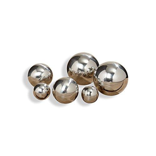 6 stainless steel gazing ball - 1