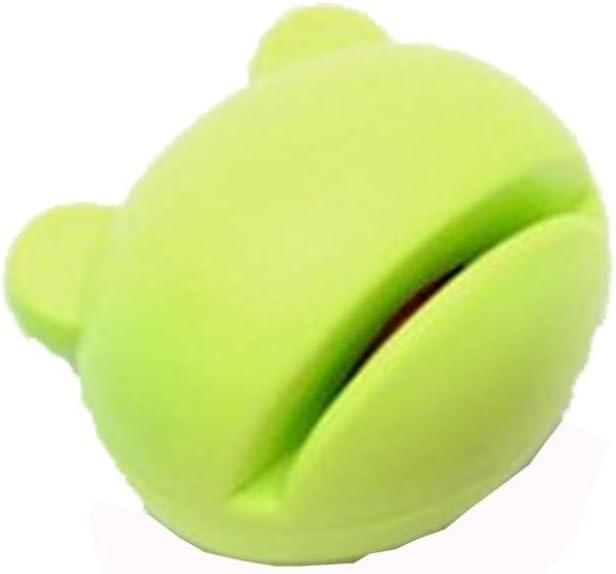 Bomdes 1pc Multifunction Cartoon Mini Sharpener Kitchen Tools Grindstone Kitchen Gadgets Green