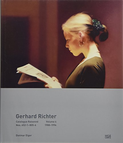 Gerhard Richter: Catalogue Raisonné, Volume 4: Nos. 652-1-805-6, 1988-1994 ()