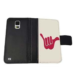 Hawaii Hang Loose - Samsung Galaxy S5 Leather Wallet Case