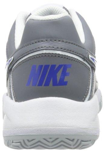 Nike City Court 7 (GS) Zapatillas de tenis, Niños Gris / Azul / Blanco (Cl Grey / Gm Ryl-Pr Pltnm-White)