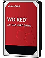 Western Digital WD 4TB Red NAS Hard Disk Drive - 5400 RPM Class SATA 6 Gb/s 64MB Cache 3.5 Inch - WD40EFRX