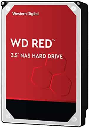 Western Digital Red 4TB NAS Hard Disk Drive - 5400 RPM Class SATA 6 Gb/s 64MB Cache 3.5 Inch - WD40EFRX
