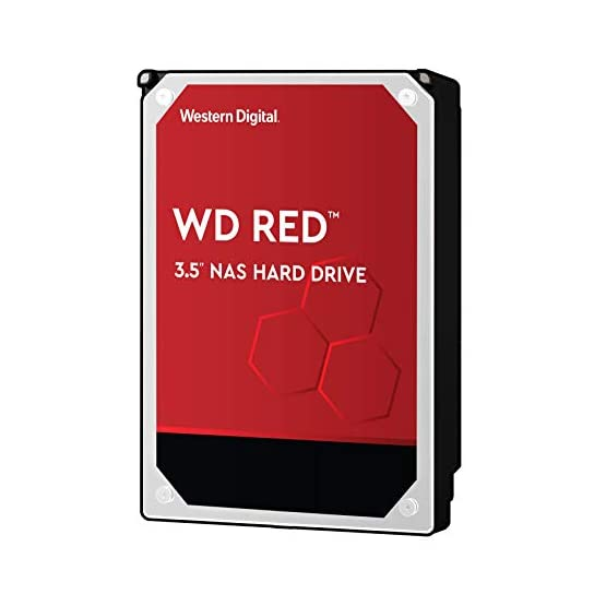 "WD Red 14TB NAS Internal Hard Drive - 5400 RPM Class, SATA 6 Gb/s, CMR, 512 MB Cache, 3.5"" - WD140EFFX 41Sv8So2uaL. SS555"