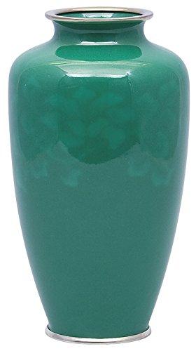 彩光舎 七宝焼き 60号並 ひすい花瓶 009-11 B01B0DOFYM 種類 : ひすい花瓶 高さ18cm