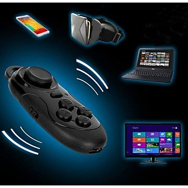 Wireless Bluetooth Remote Controller Gamepad for 3D VR Glasses iPhone iPad Ebook Tablet PC TV