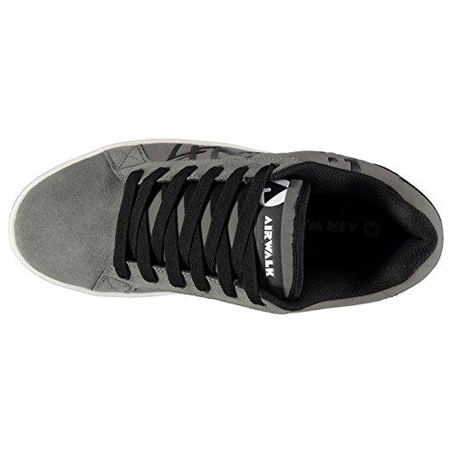Airwalk Neptune Skate Sneakers für Herren, Farbe Charcoal, für Freizeit- und Training