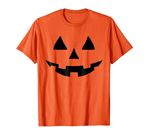 Crazy Pumkin Halloween Costume -JACK O LATERN STYLE (Orange) -