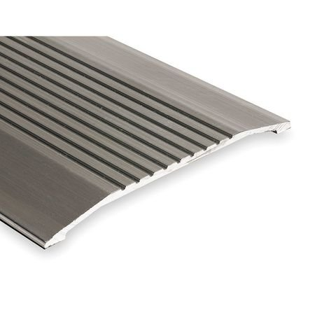 Saddle Threshold, Fluted Top, 3 ft, Alum