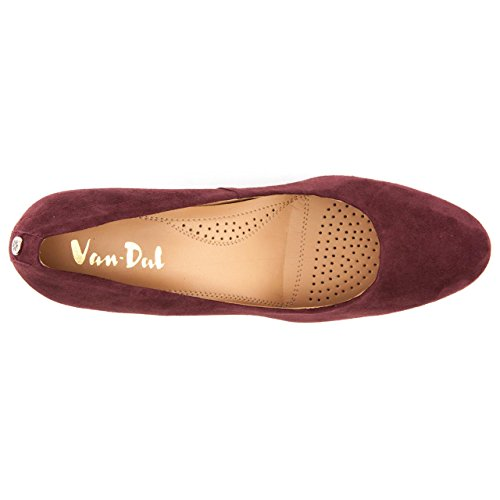 Van DalStarr - Starr mujer Rojo - Port Suede