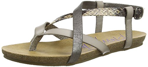 Blowfish Granola - Sandalias de Gladiador Mujer Grey (mushroom/grey/pet)