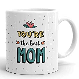 Glamouroui World's Best Mom – Unique Mug for Mom to Gift on Birthday/Mother's Day