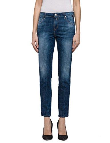 REPLAY Katewin, Jeans Ajustados para Mujer Azul (Blue Denim 7)