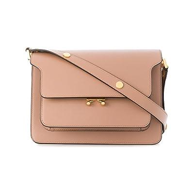e1d3e3205c Marni Women s SBMPN09NO1LV520ZC32N Pink Leather Shoulder Bag hot sale