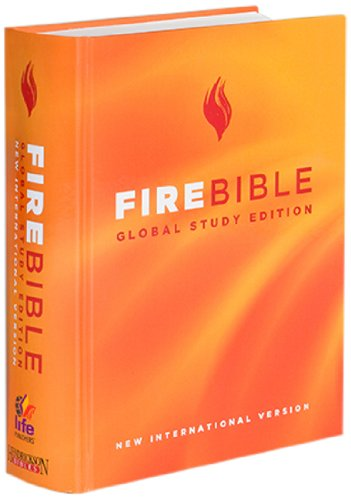 Fire Bible: Global Study Edition: New International Version Hardcover – March 30, 2010