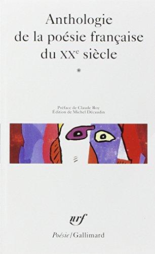 Antho de La Poe Fr 20e (Poesie/Gallimard) (French Edition)