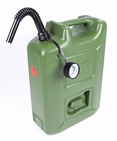 Großartig 20L Benzinkanister Kraftstoff Kanister olivgrün 20 Liter UN  JG65