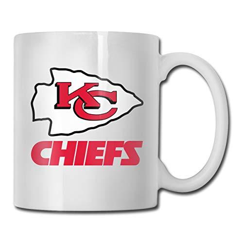 Jacoci Custom Kansas City Chiefs Coffee Mug Office Cup,14 Ounces