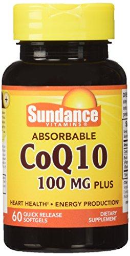 Sundance Absorb Co Q-10 100mg Plus, 60 Count