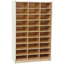 Wood Designs Mailbox Center - Natural