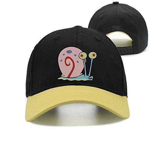 Man Spongebob-Squarepants-Snail- Snapback hat Trucker Hats Baseball